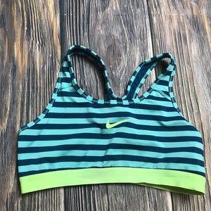 Stripe Nike Sports Bra